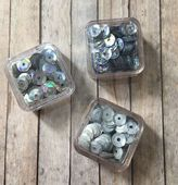 Sequin Trio Packs - Silver